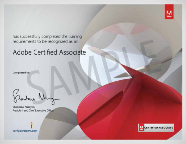 Certificazioni Adobe - Master in Graphic Design - MyWeb School